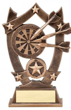 MPI Sport Star Darts Resin Award