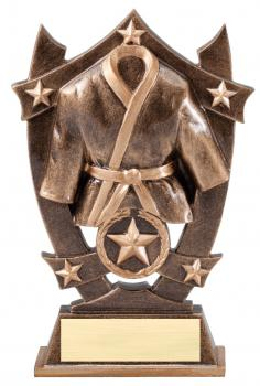 MPI Sport Star Martial Arts/Karate Resin Award