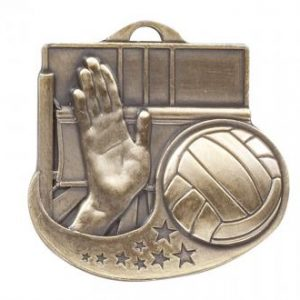 Star Blast Series 2 Volleyball Medal