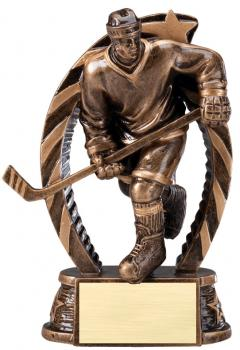 RST613 Running Star Resin Male Hockey Medium Award