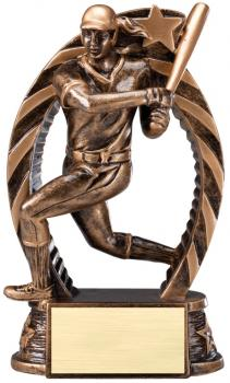 RST602 Running Star Resin Softball Medium Award