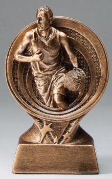 RF2603 Saturn Resin Male Basketball Trophy