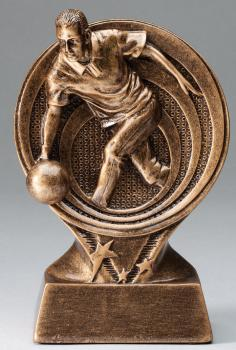 RF2607 Saturn Resin Male Bowling Trophy