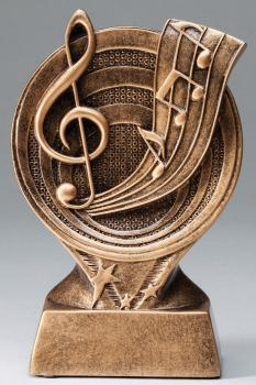 RF2614 Saturn Resin Music Trophy