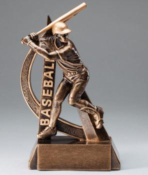 RF2701 Ultra Action Baseball Resin Award