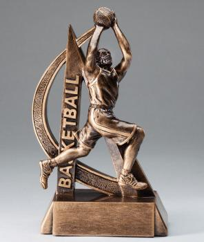 RF2703 Ultra Action Male Basketball Resin Award