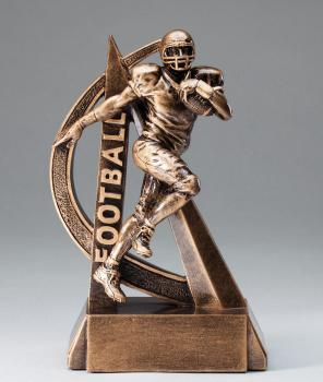 RF2710 Ultra Action Football Resin Award