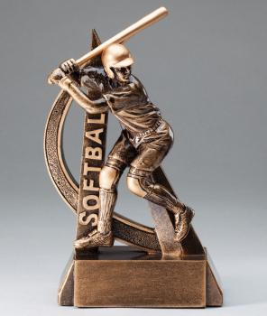 RF2702 Ultra Action Softball Resin Award