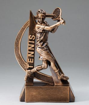 RF2720 Ultra Action Male Tennis Resin Award