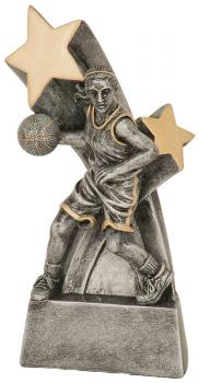 JDS RSS104 Female Basketball Super Star Resin Award