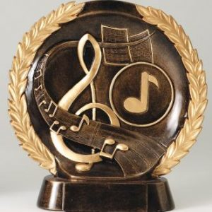 MPI RFH531 Super 3D Music Resin Award