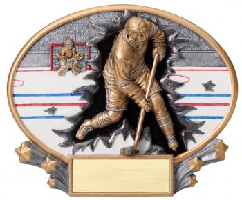 MX2017 Hockey Xplosion Oval Resin Award