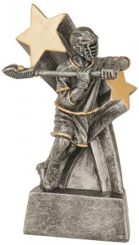 JDS RSS116 Super Star Male Lacrosse Resin Award