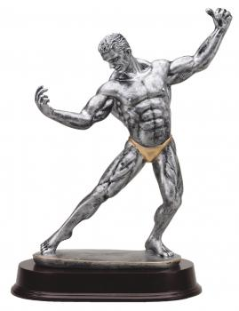 MPI RF 2221SG Male Body Builder Extra Large Resin Award