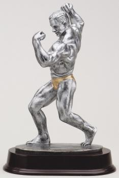 RF1013SG Male Body Builder Resin Award