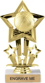 CAT F754 Basketball Four Star Trophy