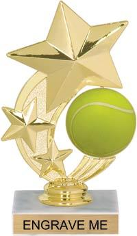 JDS RP89585 Shooting Star Spinning Tennis Trophy
