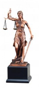 Justice/Law Sculpture Bronze Resin Statue