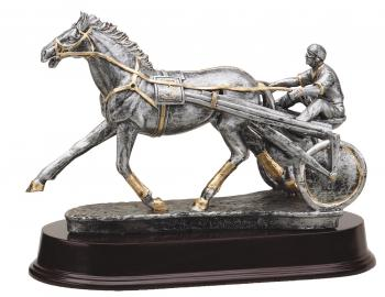 MPI RF3101SG Harness Racing Sulke Horse Resin Award