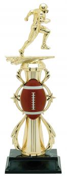 PDU 96500 Football Star Action Riser Trophy