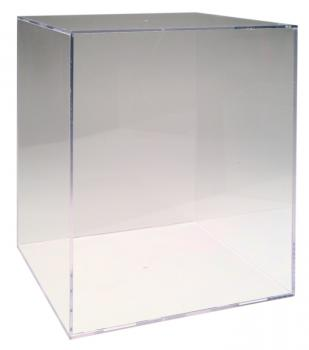QB5 Football Helmet Clear Display Box