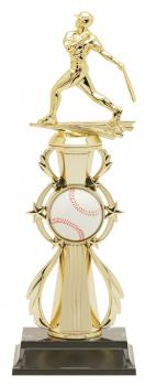 PDU 96503 Baseball Star Action Riser Trophy